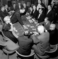 table de baccarat casino
